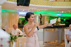 Выездная свадебная регистрация.Ведущая церемонии -Татьяна Катрич