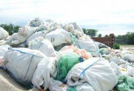 We buy expensive big bags, films, drip irrigation, polyme waste